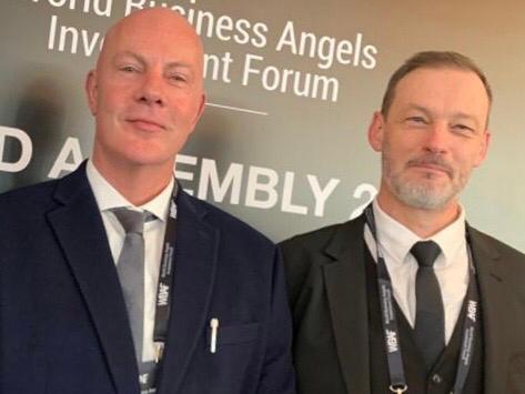 Nella foto: da sinistra Mr. Dom Einhorn e Mr. Jean Vignon, CEO e CFO di UNIQORN